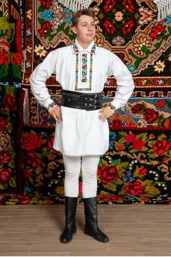 Costum popular barbat Salaj
