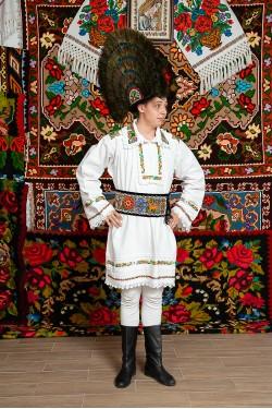Costum popular barbat Somes