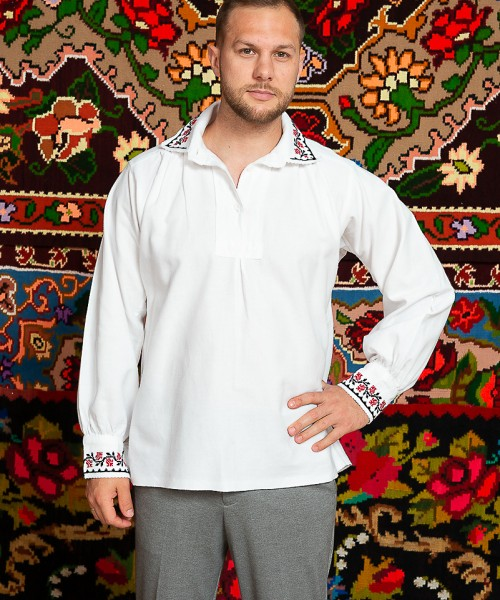 Camasa populara barbat Dobrogea