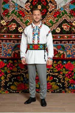 Camasa populara barbat Grigore cu brau