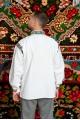 Camasa populara barbat Somes cu guler tunica