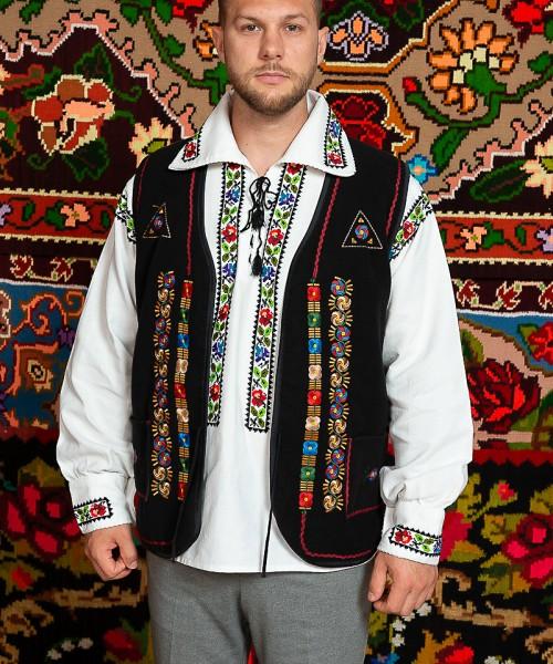 Camasa barbat Somes cu vesta Dobrogea de Nord