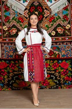 Costum popular femeie – Dobrogea de Sud