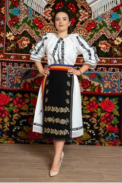 Costum popular femeie – Campia Transilvana