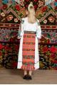Costum popular femeie - Salauta cu margele