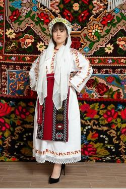 Costum popular femeie Muntenia, Calarasi - Camelia