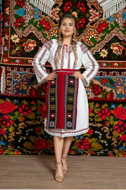 Costum popular femeie Muntenia - Ileana