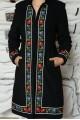 Palton Sorina negru