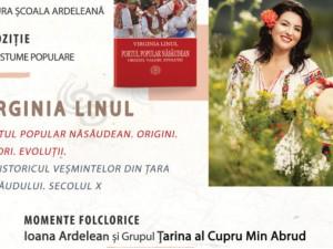 Virginia Linul, cea mai cunoscută creatoare de costume populare din țară, lansează prima sa carte la Târgul de Carte Alba Transilvana de la Alba Iulia