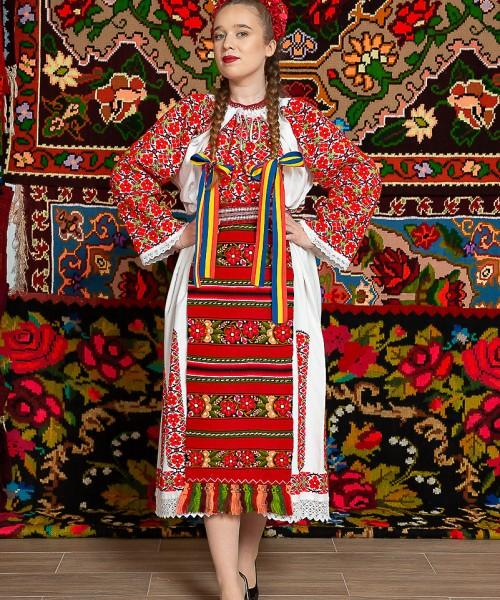 Costum popular femeie - Claudia