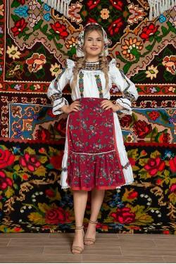Costum popular femeie - Oas