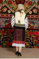 Costum popular femeie  cu pieptar – Daniela