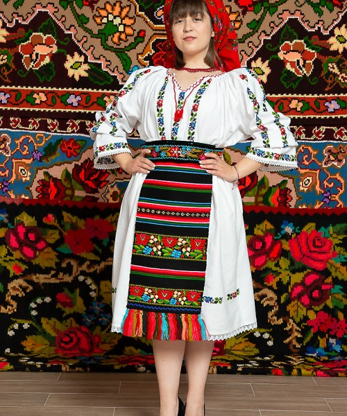 Costum popular femeie - Somes mic