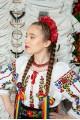 Costum popular femeie - Somes cu pene