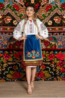Costum popular femeie Ucraina/Siret - Marta