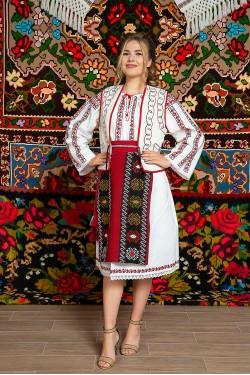 Costum popular femeie Muntenia cu ilic - Ileana